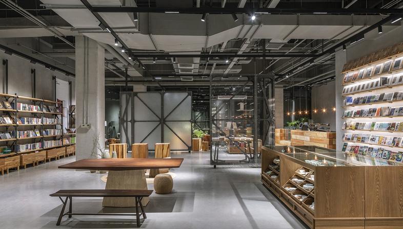 LUO Studio creates Mumokuteki Concept Bookstore in Beijing