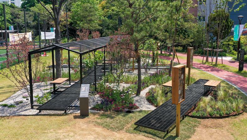 Empathy Park by studio audal for the Seoul International Garden Festival