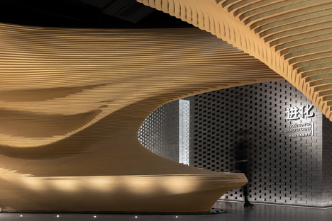 An installation by TOWOdesign introducing the passive home