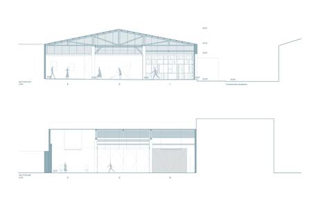 Mezzo Atelier converts a former warehouse into a cultural centre