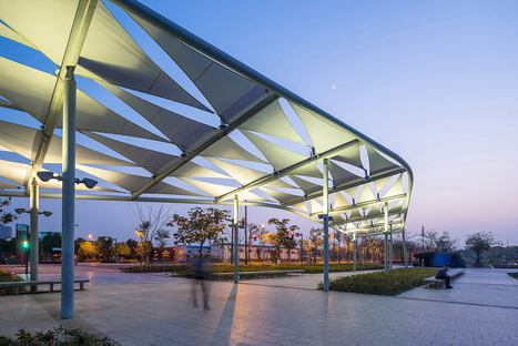 A green lung: Sasaki's Jiading Park