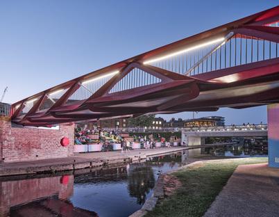 Moxon Architects' Esperance Bridge in King's Cross, London