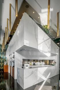 RECS Architects design Il Ferrarino restaurant in Casablanca