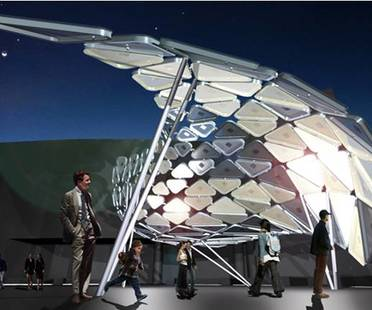 Solar Shift, an interactive light installation powered by clean energy