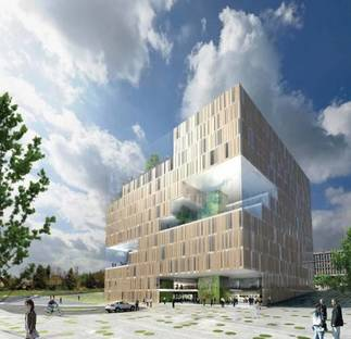 EcoCube, a mixed-use building for Oslo