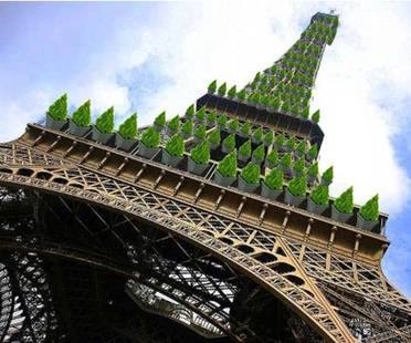 Green transformation proposed for the Eiffel Tower
