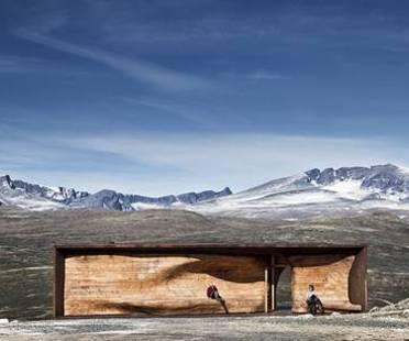 Snøhetta: Wild Reindeer Centre Pavilion in Norway