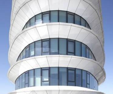 UNStudio: Sustainable office tower with aerodynamic form