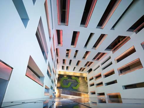 Ayre hotel rossellon una costruzione ecoefficiente con for Soggiorno a barcellona