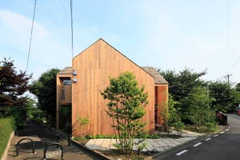 Cross House in Koganei, LoveArchitecture