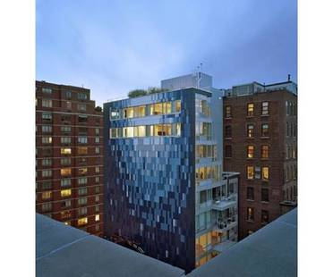 Avant Chelsea, an apartment building in New York. 1100 Architect.