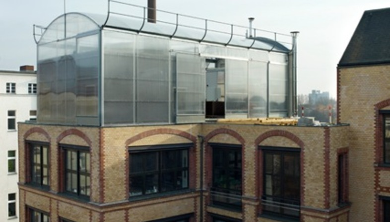 Penthouse Berlin a penthouse in berlin economically sustainable apartment livegreenblog