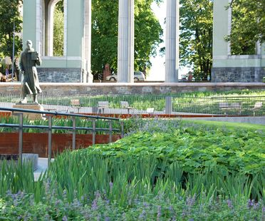 Landscaping in the centre of Oslo: Schandorff Square, Østengen & Bergo AS