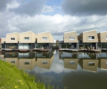 Living on the water. Water+Reed, BLAUW architects.