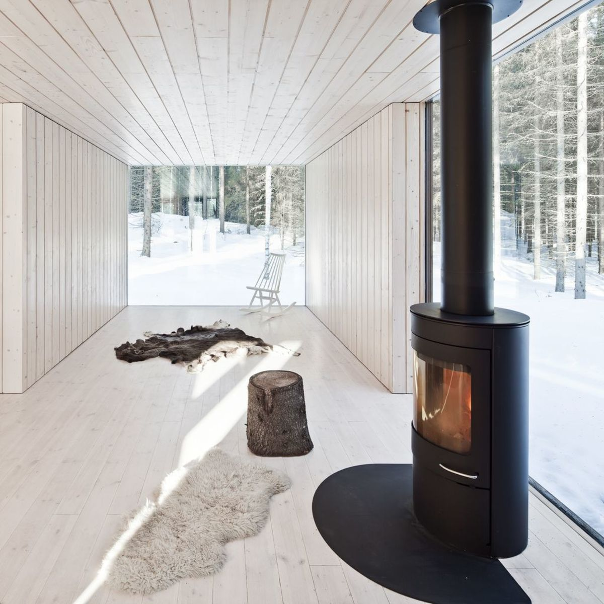 Sustainable House In The Finnish Countryside Livegreenblog