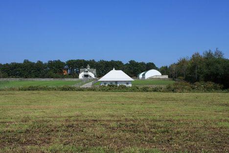 Experimental and eco-friendly home by Kengo Kuma.