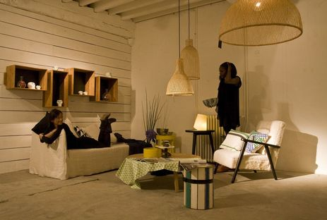 Visually recycling common objects for interior design. An Akiko project.