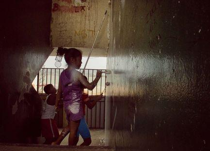 BoaMistura in Panama: Somos luz.