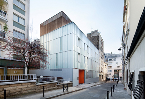 crystal box first housing project built as part of the city of paris