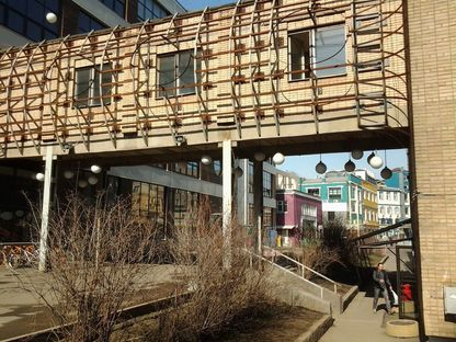 Artplay: a centre of architecture, art and design in Moscow.