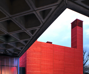 Temporary venue for London's National Theatre: The Shed.