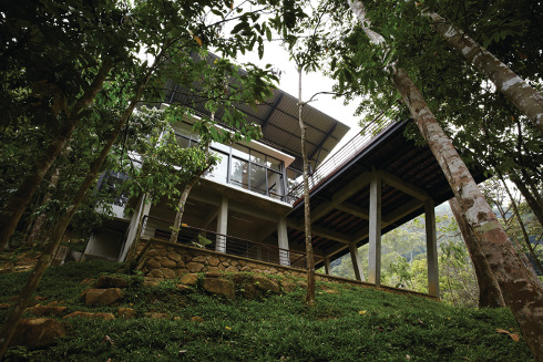 Terrific Sustainable Deck House Malaysia Choogimwaharchitect Slope Largest Home Design Picture Inspirations Pitcheantrous