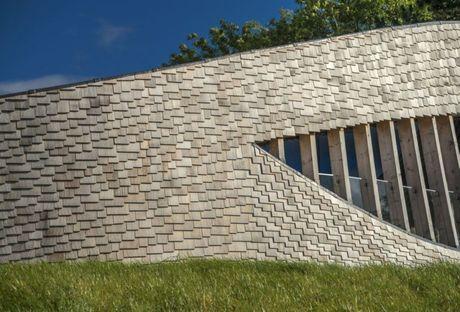 UNESCO heritage and contemporary architecture. Pavilion Puur.