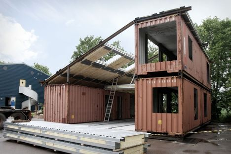 A pre-fabricated home for sustainable living. WFH