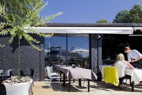 Koya Restaurant & Lodge in Riga. Project by Open AD.