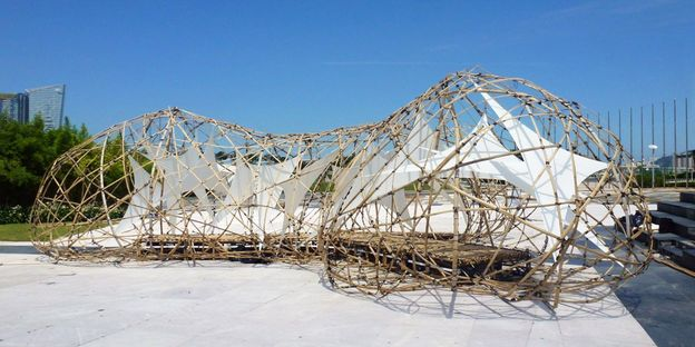 Temporary structure: Pulse Pavilion, Macau.