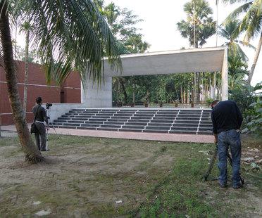 "The film ""Rafiq Azam. Architecture for Green Living"" at the International Architecture Film Festival in Lund"