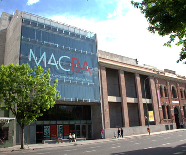When a museum adds value to a city. First birthday of MACBA, Buenos Aires.