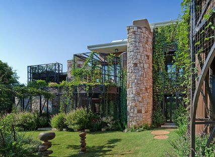 Green architecture: House Jones by ERA Architects, South Africa.