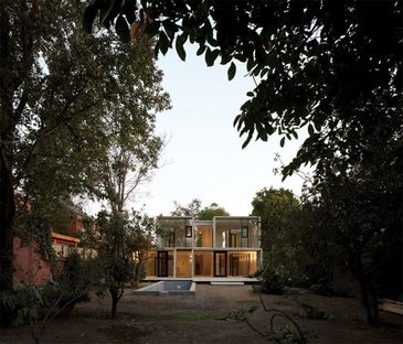 Connecting with the garden: Casa La Cañada, Ricardo Torrejón.