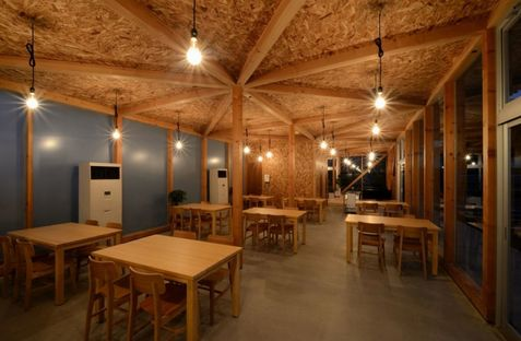 A space for everyone: Cafeteria in Ushimado by Niji Architects