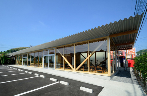 A Space For Everyone Cafeteria In Ushimado By Niji