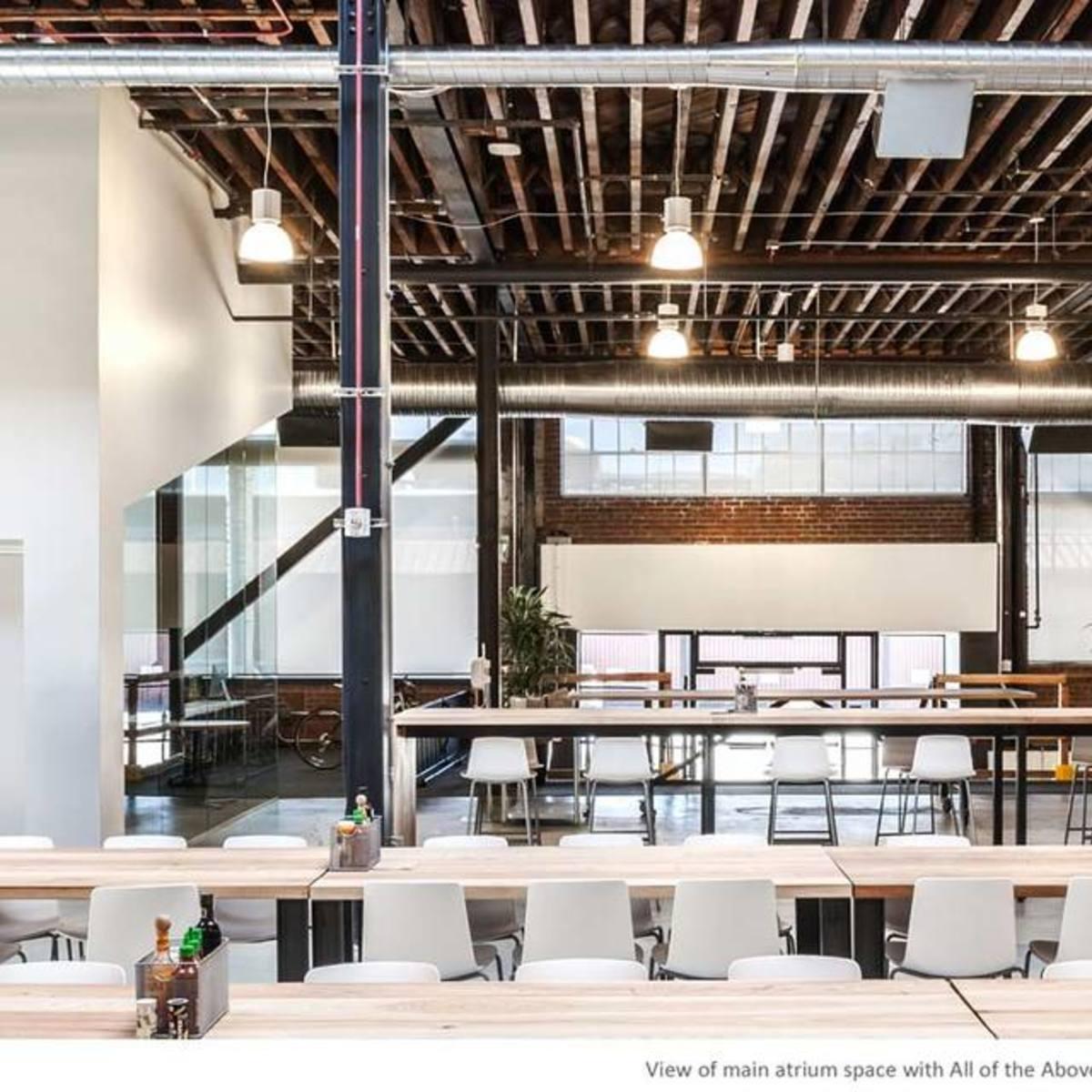 The new pinterest headquarters schwartz and architecture