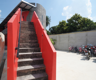 A new kindergarten in Thailand. Prachasongkroa School.