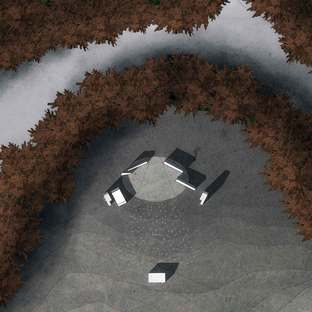 Land art, architecture and theatre: Klemet, the shaman.