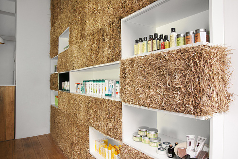 Natural beauty the pieknalia store by hornowski design for Sustainable interior design products