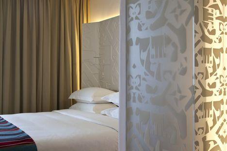 Concept Hotel in Tel Aviv: Mendeli Street.