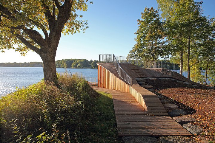 A Viewing Platform To Reconnect Man Nature And History