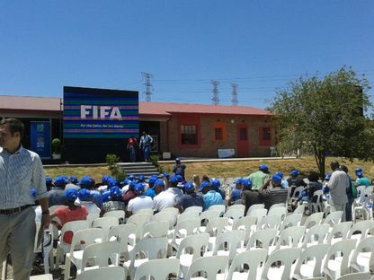 Alexandra Football for Hope Centre, Johannesburg.