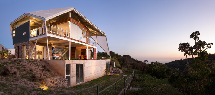 This Contemporary Piece Of Architecture Has An Iconic But Practical Roof  Providing Protection From Direct Sunlight, And Enjoys Fine Views Over The  City And ...
