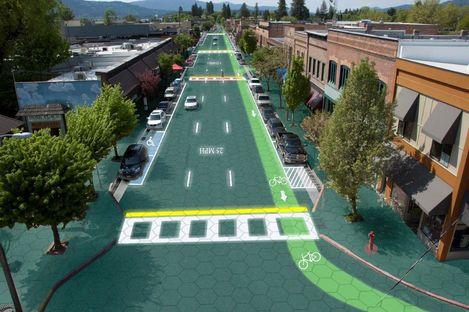 Solar Freakin' Roadways. Solar power from the road.