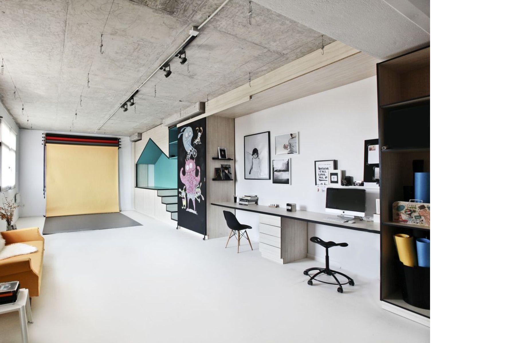 Input Creative Studio Designs A Photography Studio In New York Livegreenblog