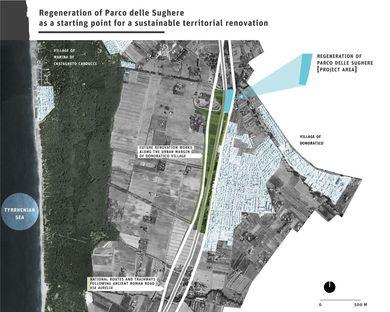 Regeneration of the Parco delle Sughere, a cork oak park, on the Next Landmark 2014 shortlist