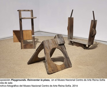 Exhibition: Playgrounds. Reinventing the Square at the Reina Sofia museum in Madrid.