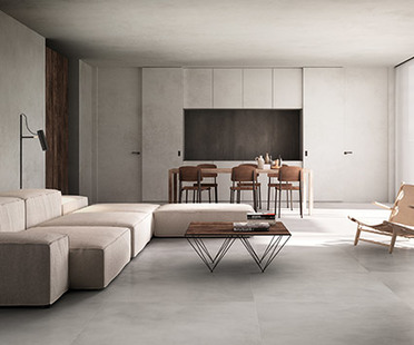 Maximum maxi-tiles: large porcelain tiles