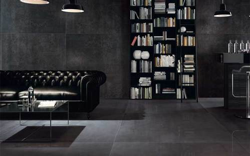 Porcelain floor and wall coverings for modern and traditional interiors